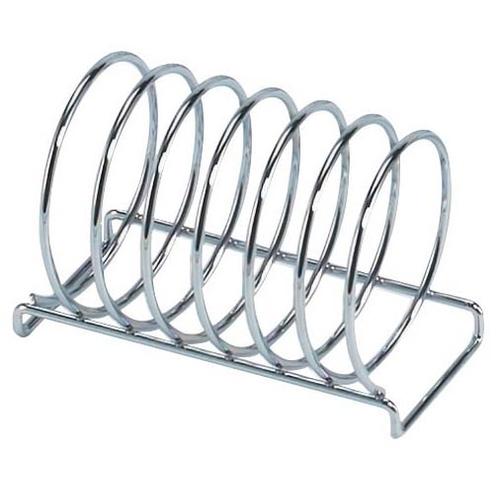 6 Slice  Round Wire Toast Rack Chrome
