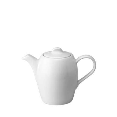 Churchill Plain White Cafe Teapot 12oz