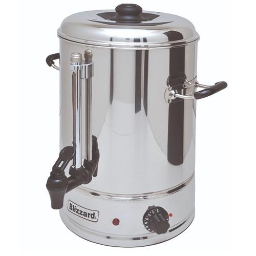 Blizzard MF10 Water Boiler Urn 10Ltr Stainless Steel