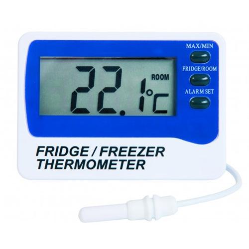 Digital Fridge/Freezer Thermometer -49.9 to 69.9°C White