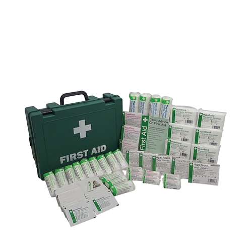 Standard First Aid Kit 50 Person Green