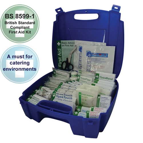 Evolution  Catering First Aid Kit Medium Blue