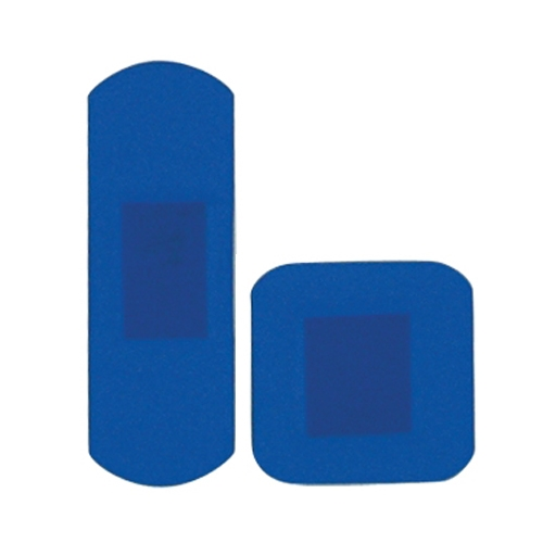 HypaPlast Detectable Plasters Assorted  Blue