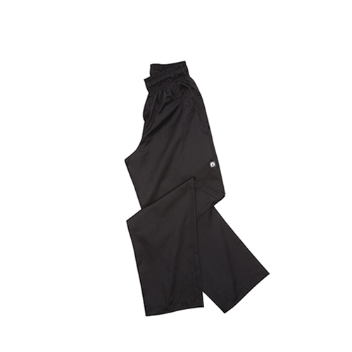 Chef Works Essential Baggy Chef Trousers Small Black