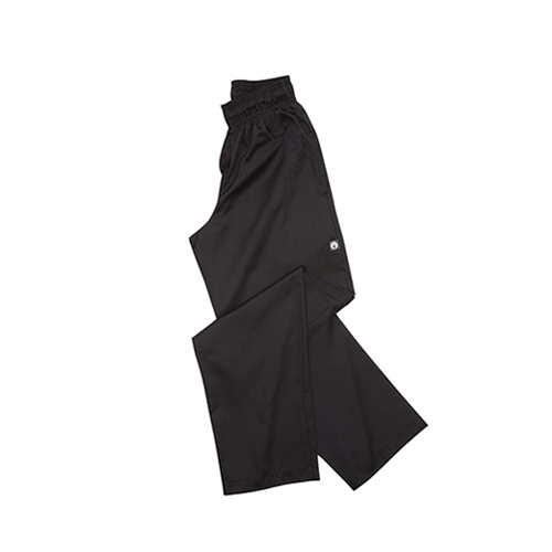 Chef Works Essential Baggy Chef Trousers Medium Black