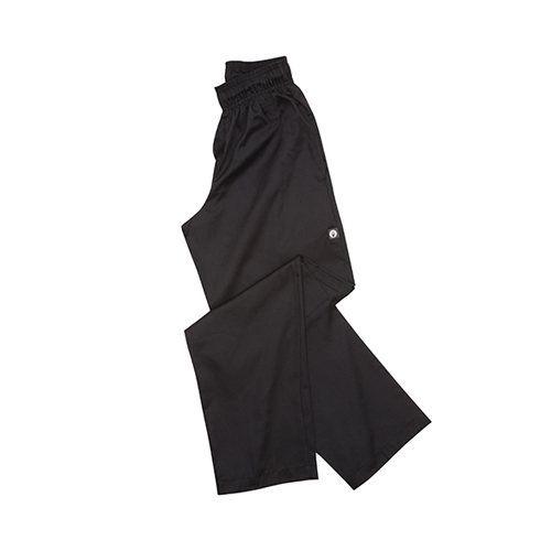Chef Works Essential Baggy Chef Trousers Large Black