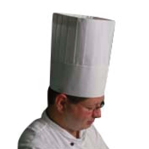 Chefs  Toque Har 26.5cm H White