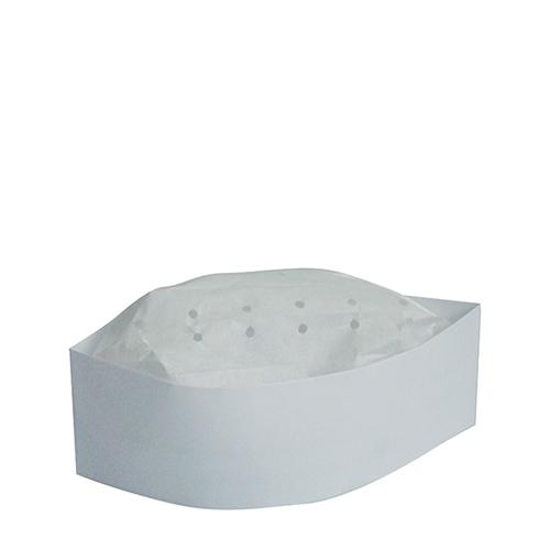 Paper Forage Hat Adjustable White