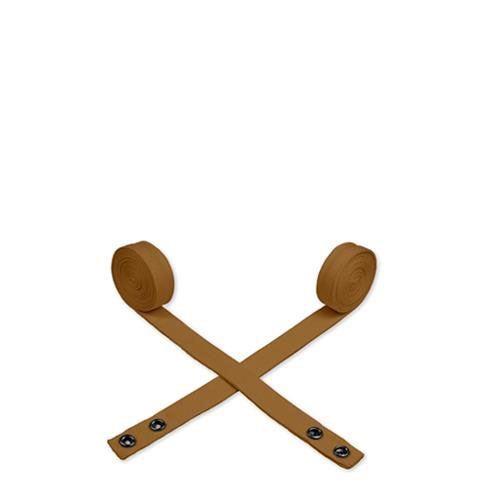 Oliver Harvey Cotton Cross Back  Apron Ties 190cm x 2.6cm Khaki