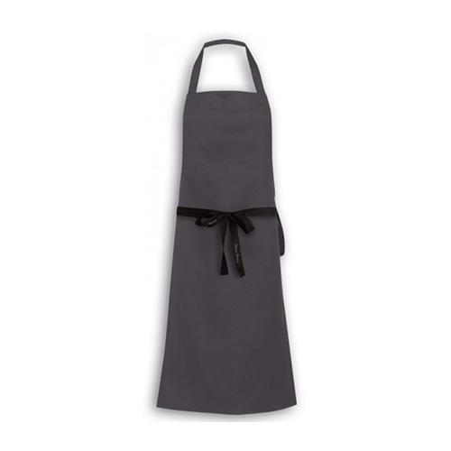 Oliver Harvey Chefs  Bib Apron 91cm x 94cm Grey