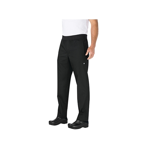 Chef Works Slim Lightweight Chef Trousers Medium Black