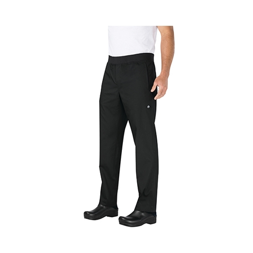 Chef Works Slim Lightweight Chef Trousers Large Black