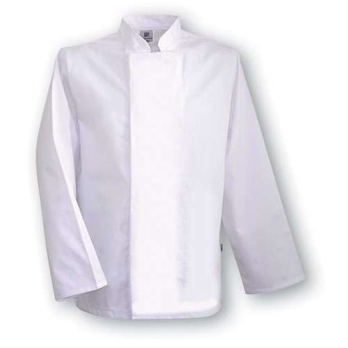 Tibard Coolmax  Long Sleeve Chefs Jacket Small White