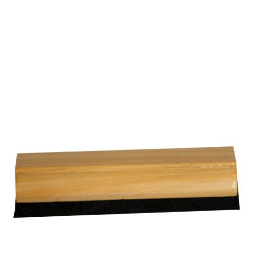 Wooden Varnished Chalk Board Eraser 15x4x3.5cm Brown