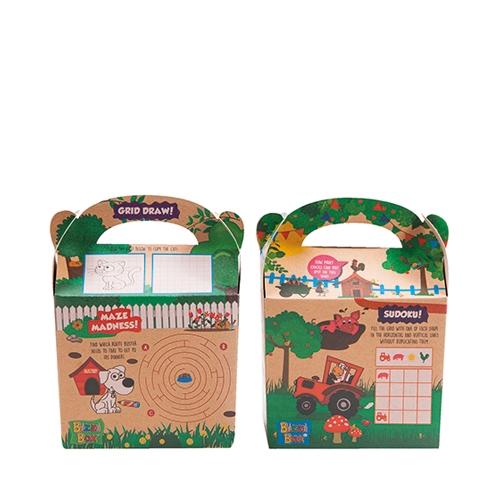 Bizzi Activity Meal Box (Pet & Farm) Kraft