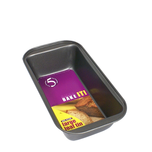 Non-Stick Small Loaf Tin 450g Grey