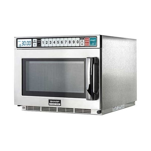 Sharp R7500M 1800W + FREE Domestic R890 Microwave Stainless Steel