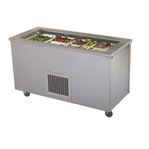 Victor  Refrigerated Salad Bar Empress RW40MS Stainless Steel