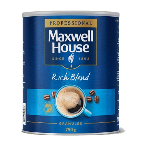 Maxwell House Rich Blend Coffee Granules 750g