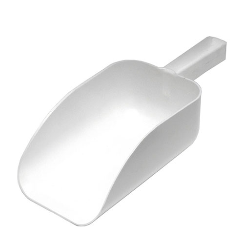All Purpose  Plastic Scoop 1Ltr White