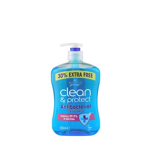 Astonish Clean & Protect Hand Wash 650ml Blue