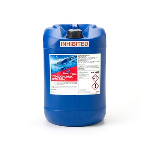 Blue Horizons Hydrochloric Acid 28% 25Ltr
