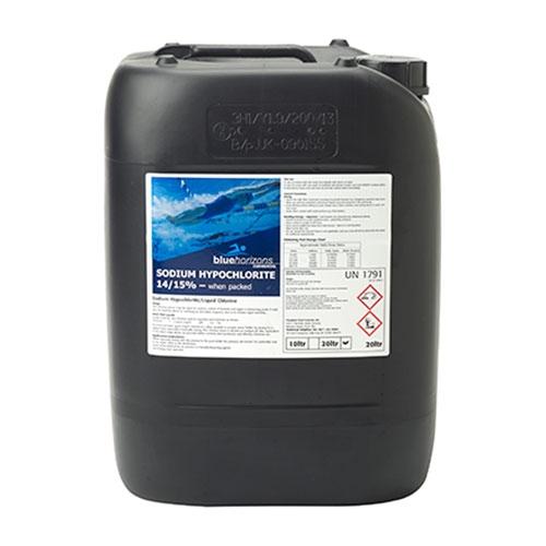 Blue Horizons Sodium Hypochlorite 14/15% 20Ltr