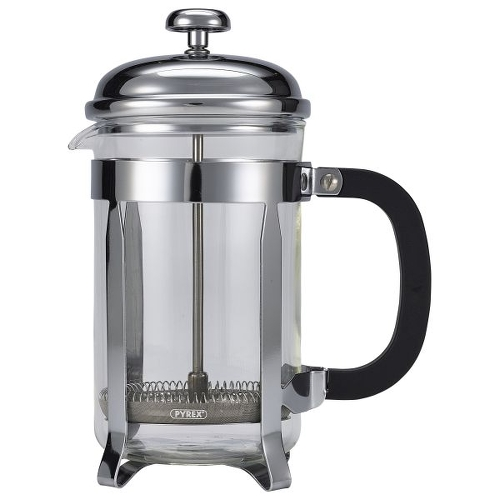 Cafetiere Coffee Maker 6-Cup Chrome