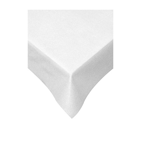 Swantex Swansoft Table Cover 120cm x 120cm White