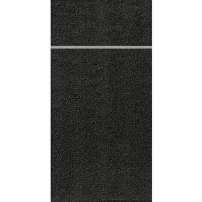Duniletto Black Slim Airlaid Napkin 33cm x 40cm