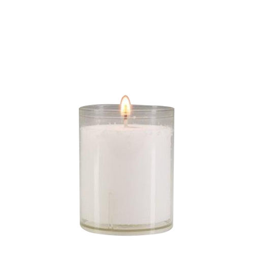 Original Refill 24 Hour Candle 64mm x 51mm Clear