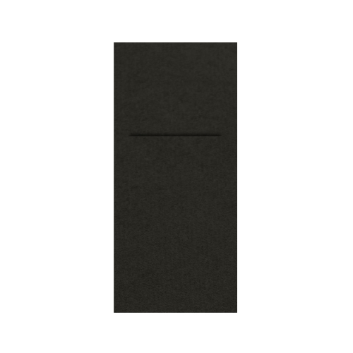 Airlaid  Pocket Napkin 48 x 40cm Black