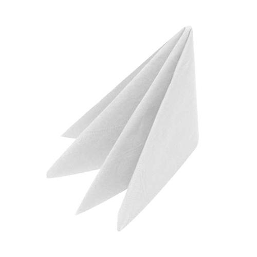 Bulkysoft White Cocktail Napkin 2 Ply 25cm