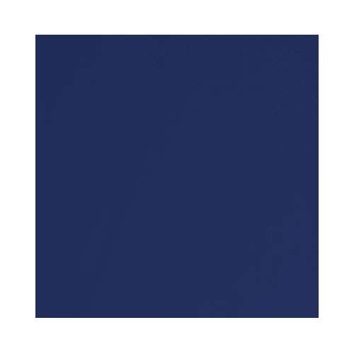 Poppies Navy Blue Cocktail Napkin 2 Ply 25cm
