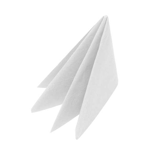 Dinner Napkin 2 Ply 40cm White