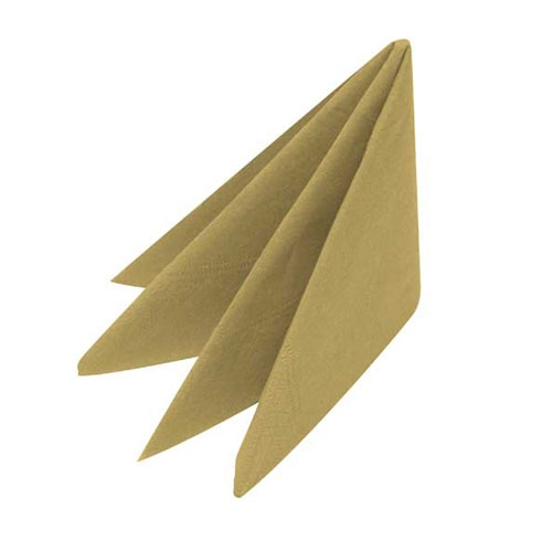 Swantex Lunch  Napkin 3ply 33cm Gold