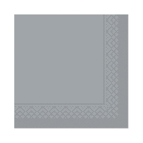 Swantex Dinner  Napkin 3ply 40cm Grey