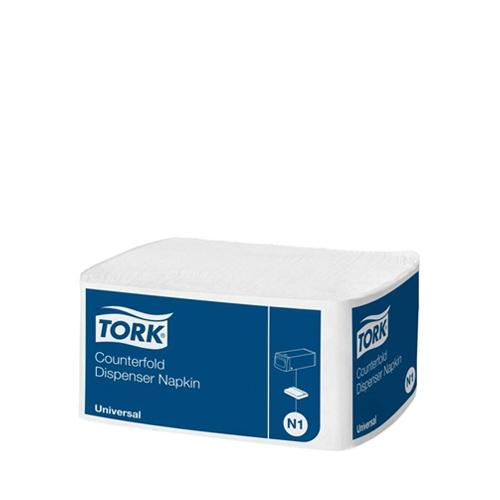 Tork Dispenser  Napkin 1 Ply 9.4cm x 15.5cm White