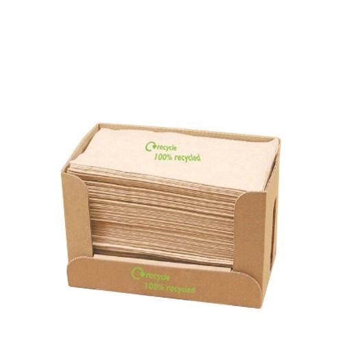 Swantex Kraft Recycled Napkin 1 Ply 32 x 30cm
