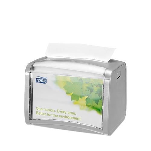 Tork Xpressnap® Tabletop Napkin Dispenser 155x201x150mm Grey