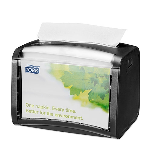 Tork Xpressnap® Tabletop Napkin Dispenser 155x201x150mm Black