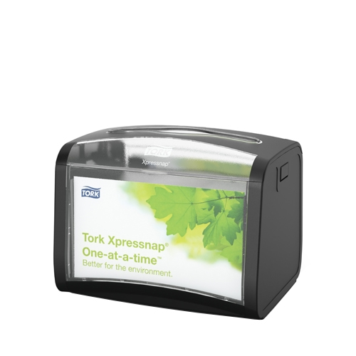 Tork Xpressnap® Tabletop Napkin Dispenser 155x201x150mm Black