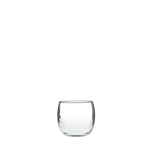 Roly Poly Votive Candle Holder 6.5 x 5.4cm Clear