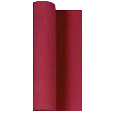 Airlaid Table Runner 40cm x 24m Bordeaux