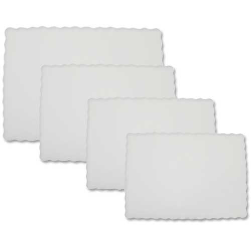 Swantex Embossed Tray Paper 10x14