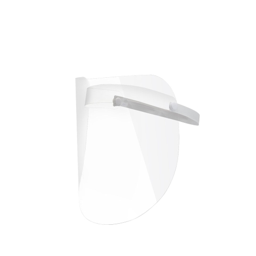 Face Shield With Liftable Visor