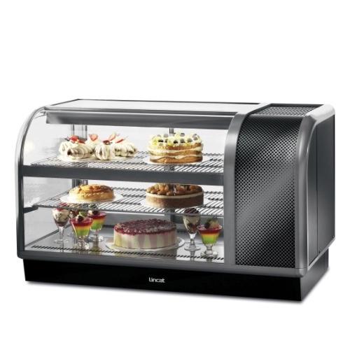Lincat Refrigerated Food Display Case Dark Grey
