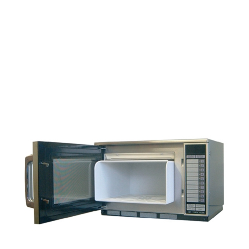 Sharp Microwave Oven Cavity Protection System -Panasonic White