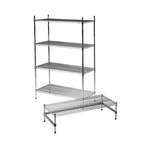 Chrome Wire Additional Shelf 1000 (W) x 500 (D)