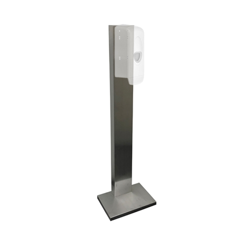 S/S  Wall Sited Hand Sanitiser Pedestal Station Stainless Steel